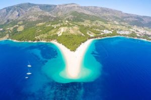 Croatia Brac island waterfront luxury villa for sale with pool