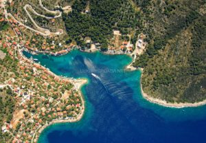 Stone waterfront house for sale on island Solta