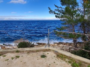 Waterfront land for sale Prigradica Korcula Croatia
