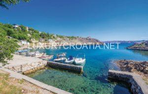 Waterfront house for sale North Dalmatia Croatia