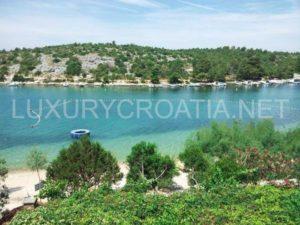 Beachfront house for sale Primosten Sibenik area Croatia