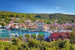 Building land for sale Vinisce Trogir Croatia