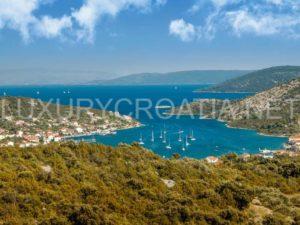 Seaside land for sale Vinisce Trogir Croatia